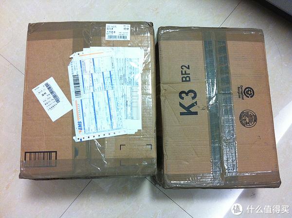 两个包裹同一天收到,一个是上午一个是下午,感谢 ...
