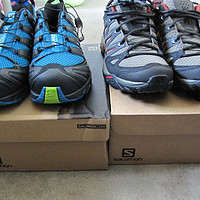 Salomon 萨洛蒙 XA PRO 3D 户外登山鞋 356797、ESKAPE AERO 徒步鞋