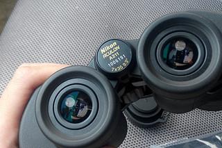 Nikon 尼康 8244 ACULON A211 7x35 Binoculars 双筒望远镜 — 站的不高 也能看得远