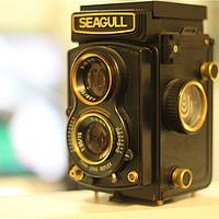 怀旧的一瞬间:海鸥 4A 双反相机 澳门回归纪念版