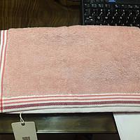 1.9 RMB的白菜价DAPU 大朴 埃及长绒棉 素色条纹 毛巾