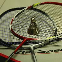 那一抹亮骚的红:YONEX 尤尼克斯 ARCSABER 11 羽毛球拍