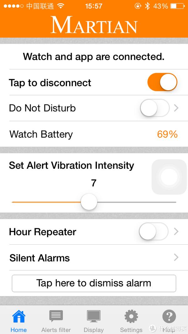 最像手表的智能手表:Martian Watches Notifier 蓝牙智能手表