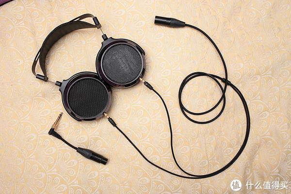 hifiman he400i & 森海塞尔 hd600 头戴式耳机 原带耳机线改平衡口图片