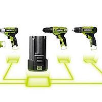 电动工具选购指南 篇九:10.8V、MAX12V无绳手电钻(不带冲击功能)