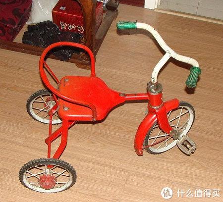 儿童三轮车图片_萌娃装备之:ides iimo 儿童三轮脚踏车_开箱晒物_什么值得买