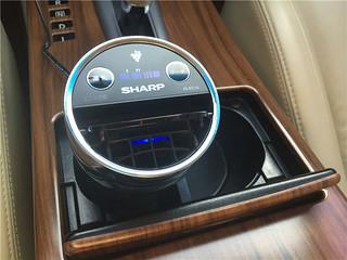 小身材,大能量:sharp 夏普 IG-EC15 车载空气净化器
