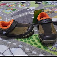 反季囤好货之三:Crocs 卡骆驰 Dawson S-O Lined Slip-On 儿童皮拖鞋