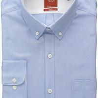 Original Penguin Men\'s Slim-Fit Solid Dress Shirt