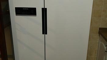 SIEMENS 西门子 KA92NV02TI 对开门冰箱入户及尺寸信息分享