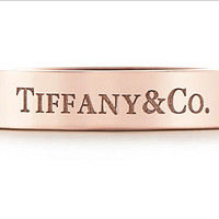 Tiffany & Co 蒂凡尼 Blue&Rose Gold 18K玫瑰金 对戒入手