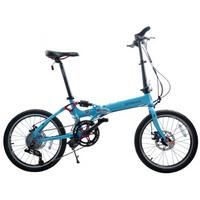 台湾欧亚马/OYAMA折叠自行车酷炫PRO-M990D双碟刹20寸16速折叠车 20寸