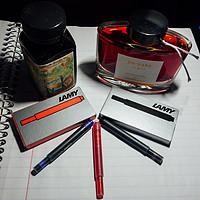 颜控文具盒 篇二:我家洗砚池边树,朵朵花开淡墨痕 — 鲶鱼,色彩雫,各种墨水试写与替换笔芯推荐