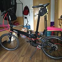 风行 KA2018 20寸折叠自行车晒单