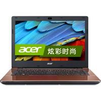 Acer E5-471G-584D 14英寸笔记本(i5-5200U 4G 500G GeForce 820M 2G独显 win8.1 蓝牙)可可棕