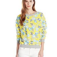 MINKPINK Women\'s Citrus Floral Sweatshirt