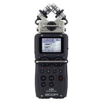 ZOOM H5 4轨录音机 H4N升级版 麦克风头可换设计 纸质中文说明书