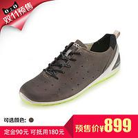 【预售】ECCO 爱步 磨砂皮运动男鞋 健步轻巧 802004