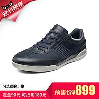 【预售】ECCO爱步 休闲系带现代男鞋 恩里科537544