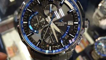 为了情怀,深海之蓝:casio卡西欧海神OCW-S3000-剁手成功