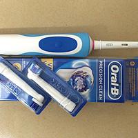 电动牙刷初体验 — BRAUN 博朗 Oral-B 欧乐B D12.013 电动牙刷