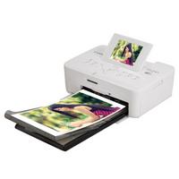 佳能(Canon) CP910 手机彩色 照片打印机 家用 迷你相片便携式打印机(白色)