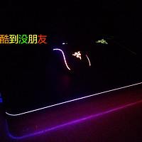 当鼠标垫邂逅LED:Razer 雷蛇 Firefly 烈焰神虫 幻彩鼠标垫