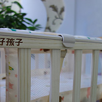 给宝宝准备个小窝:Goodbaby 好孩子 多功能环保实木摇篮婴儿床 MC283-H