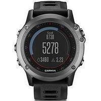 佳明(Garmin)手表 GPS多功能户外运动登山腕表男表炫黑版fenix3飞耐时3
