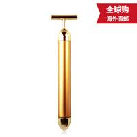 日本直邮beauty bar 24k黄金美容棒电动按摩棒 T型头