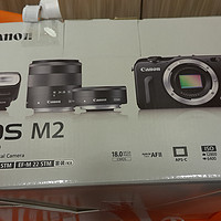 Canon 佳能 M2 双头微单套机 伪开箱