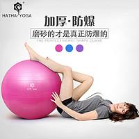 哈他瑜伽球加厚防爆65cm减肥愈加球孕妇分娩球健身瑜珈球正品包邮
