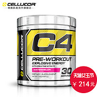 Cellucor细胞肌能 C4美国金属能量氮泵 健身肌酸氮泵 西瓜味195g