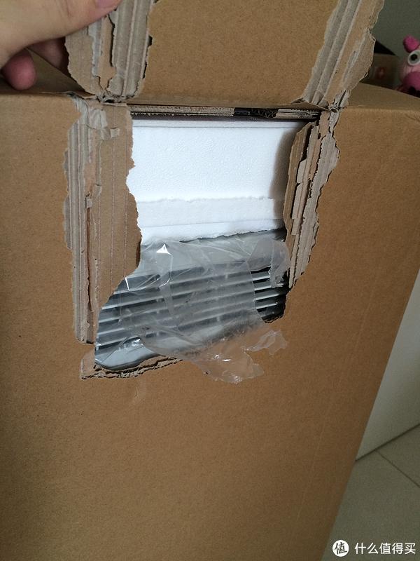 洞穿两层纸箱,直达出风口
