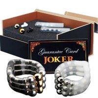 JOKER 磁疗式延时包皮环(日用+夜用)套装 成人情趣用品