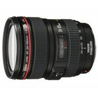 佳能(Canon)标准变焦镜头 带遮光罩和镜头袋 (佳能 EF 24-105mm f4L IS USM红圈拆机镜头