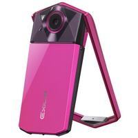 卡西欧(CASIO)EX-TR600 数码相机  (1110万像素 21mm广角)玫红色