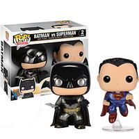 FUNKO POP 蝙蝠侠大战超人之正义黎明 金属版2个装