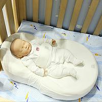 #本站首晒# 给宝宝安稳舒适的睡眠:Red Castle Cocoonababy 婴儿床垫/鹅蛋睡枕/睡窝