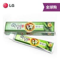 【全球购】韩国原版  LG竹盐牙膏加强天然植物配方齿康膏  130G