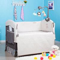 #宝贝计划# 给宝宝准备的valdera 多功能可折叠婴儿床