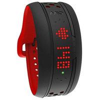 美国mio迈欧 阿尔法FUSE熔仕 运动跑步智能心率手环 蓝牙APP/计步手表/ANT+心率带监测报警(红色L码)