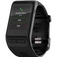 佳明(GARMIN)vívoactive HR 黑色智能心率手环智能手表蓝牙来电提醒运动监测睡眠监测GPS定位50米防水