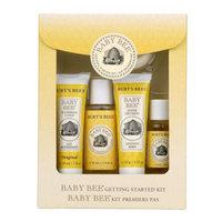 【全球购】小蜜蜂 Burt\'s Bees婴幼儿童宝宝新生儿洗护保养礼盒套装5件 五件套