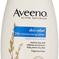 Aveeno Active Naturals Skin Relief 24 Hour Moisturizing Lotion, 18 Fluid Ounce