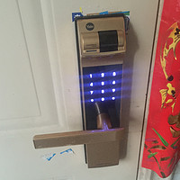 #原创新人# Yale 耶鲁 YDM4109 电子指纹锁 晒单