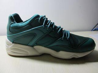 PUMA BLAZE的一抹骚绿:PUMA 彪马 男子复古休闲运动鞋
