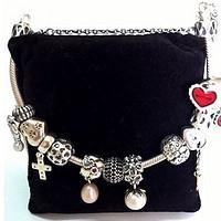 #时尚不打折#给老婆大人买的礼物:德亚直邮 PANDORA 一大串纯银手链