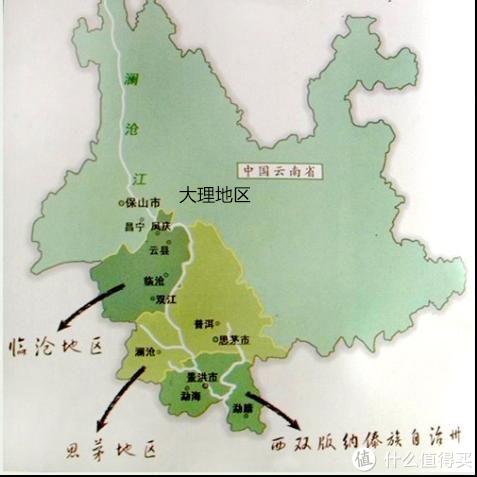 普洱茶的主要产区图片