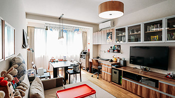 倾注满满心思的温暖小家:50平米老公房的装修心得